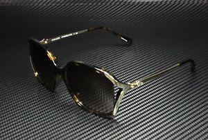 COACH L1116 HC8280U 512013 Dark Tortoise Brown Gradient 57 mm Women's Sunglasses