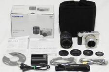Olympus PEN E-PL1 12.3MP Digital Camera w/Double zoom Lens  adapter MMF-2