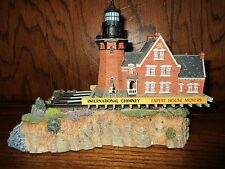 Harbour Lights 662 Southeast Block on the Move Rhode Island Signed B. Younger