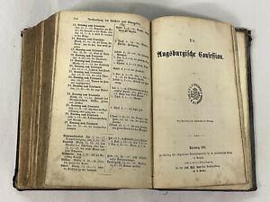 Heilige Schrift Nürnberg 1884 Central Bibel Verein / Luther