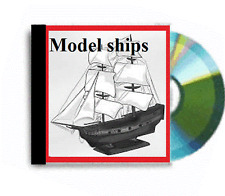 Activité de revente énorme collection de maquettes de bateaux plans dvd rom package deal