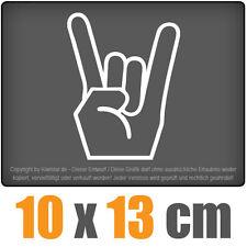 Heavy metal 10 x 13 cm JDM decal Sticker Adhesivo racing la cut