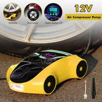 12V 120W Electric Car Tyre Inflator Pump Digital Portable Air Compressor Pump !