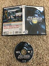 METROID PRIME TRILOGY - NINTENDO Wii , WII U , RARE