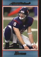 2007 Bowman Blue Football Card Pick