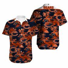 Chicago Bears Hawaiian Shirts Men's Summer Holiday Beach Short Sleeve T-Shirt