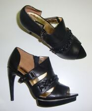 Mimco Court Shoes/ High Heels 37 with Stiletto Heel Black New