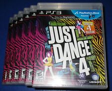 Lot of 6 Just Dance 4 Sony PlayStation 3 *Factory Sealed! *Free Shipping!