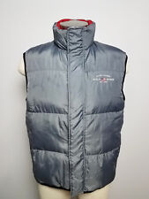 POLO JEANS by Ralph Lauren Men's Puffy Vest Gray Size L Large Red