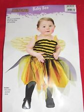 "New Infant Girls ""Baby Bee"" Halloween Costume Size Fits Up To 24 Months"