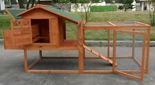 """85"""" Chicken Coop Running Cage Backyard Poultry Hen House Bantam Extra Large"""