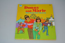 1977 Donny & Marie Osmond State Fair Mystery Nos Whitman Tell-A-Tale Book Tv 70s