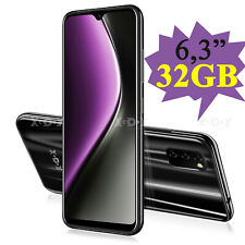 "Xgody M30s Smartphone 4G Dual SIM 6,3"" 3GB+32GB Cellulare Cellulari Face ID GPS"