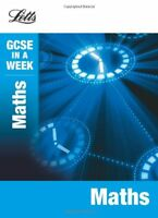 Maths (Letts GCSE in a Week Revision Guides),Fiona Mapp