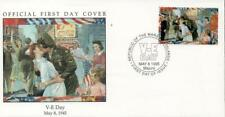Marshall Islands 1995 WWII V-E Day FDC