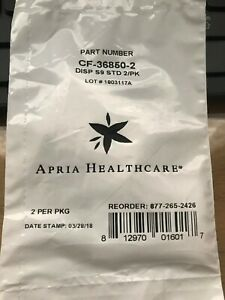 FIVE 2 pack CF-36850-2 DISPOSABLE CPAP FILTERS APRIA in NEW SEALED PACKAGE