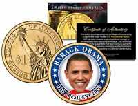 BARACK OBAMA FOR PRESIDENT 2008 Rare Campaign Issue Presidential $1 Dollar Coin