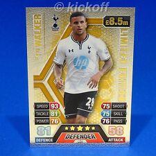 Match Attax 2013-2014: Kyle Walker GOLD Limited Edition. LE6. Tottenham. Spurs