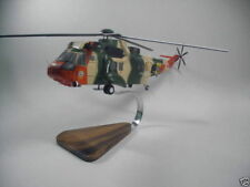 Westland Sea King Mk48 Belgium Wood Helicopter BIG Free Shipping
