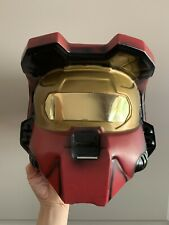 Halo Spartan Red Helmut Mask - Cosplay Costume