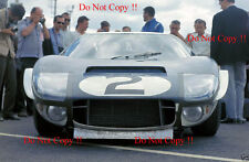 Phil Hill & Chris Amon Shelby American Ford GT40 Le Mans 1965 Photograph