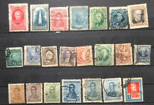 Argentina Stamps All Different Early Used