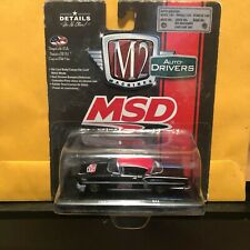 1/64 M2 DRIVERS MSD 1958 CHEVROLET IMPALA COUPE BLACK & RED