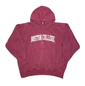 Vintage 2000s Nike Boston College Eagles Center Swoosh Hoodie Sweatshirt size L