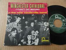 "DISQUE  45T DE THE NEW VAUDEVILLE BAND  "" WINCHESTER CATHEDRAL """