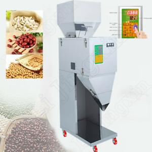 Automatic 10~999G Powder Racking Filling Machine Grain/Rice/Seed Weigh Filler EU