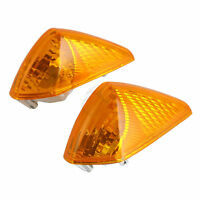 Orange Indicator LED Turn Signal Light Lens For Honda VFR800 1998-2001 1999