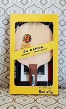Rare vintage ping pong Butterfly racket Tamasu Tokyo Tamaropa Ju Rapida original