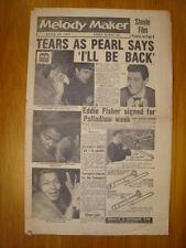 MELODY MAKER 1957 MAR 23 PEARL BAILEY EDDIE FISHER ROCK