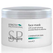 Gesicht Maske-w Lila Ginseng, Porzellan Blumen ,Weißer Tee Mischhaut SPB4575