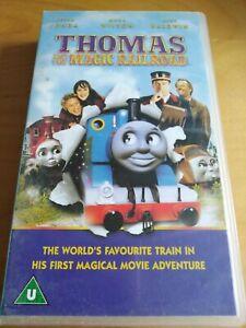 RARE Thomas And The Magic Railroad VHS VIDEO