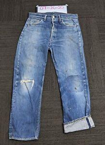 Vintage Levis 501 Redline Selvedge Single Stitch Denim Jeans