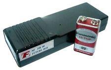 Diy Project Cb Ham Plastic Black Box 5 x 14 x 2.5 cm. [ Fb08 ]