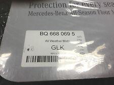 2010 TO 2014 Mercedes GLK350 Rubber Floor Mats - FACTORY OEM ITEMS - BLACK