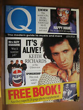 Keith Richards Q MAGAZINE #25 October 1988