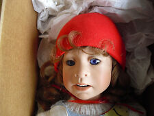 """RARE Good Kruger Vinyl Collection Party Balloons Girl Doll with Box 20"""""""