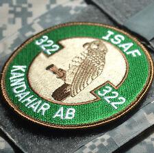F-16 SWRIL ISAF ROYAL NETHERLANDS RNLAF 322ND SQN KANDAHAR AIR BASE INSIGNIA