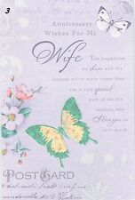 Birthday Wishes Special Friend Happy Greetings Card Wordy Verse Female Hrf017f