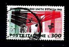 ITALIA REP. - 1961 - Centenario dell'Unità d'Italia - 300 lire Scott 844