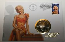 GN790 - Numisbrief Marshall Islands 5 Dollars 1995 KM#253 Marilyn Monroe USA