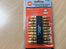 10 Piece Drill Bit Set - 65mm, DIY, Double End - Free Post
