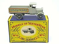 Matchbox Lesney Y6-1 AEC 'Y' Type Lorry 'OSRAM LAMPS' In Type 'A' Box
