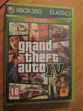 Grand Theft Auto IV (GTA 4) ~~ Jeu XBOX 360 Complet avec carte
