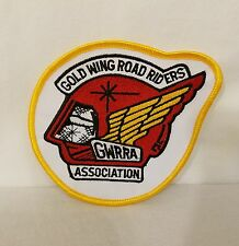 Vtg HONDA GOLD WING Road Riders Association GWRRA Patch New Old Stock Free Ship