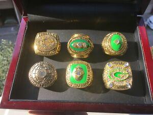 6PCS Green Bay Packers Championship Ring ///