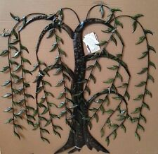 Hanging Leaves Iron Wall Decor  River of Goods